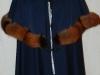 Manteau sans manches avec rotonde